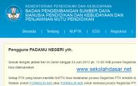 Prosedur Registrasi dan Pengajuan NUPTK Baru